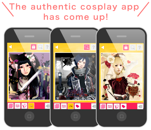 The authentic cosplay app has come up!